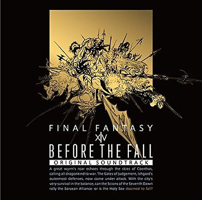 BEFORE THE FALL FINAL FANTASY XIV Original Soundtrack First Limited Blu-ray