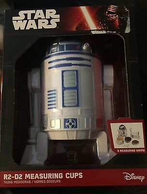 Star Wars r2d2 Measuring Cups New In Box Never Open