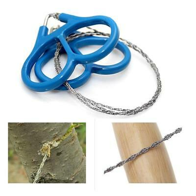 Wire Saw Stainless Steel Tool Outdoor Survival Saw Tool Emergency Camping