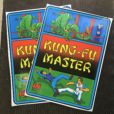 Kung-Fu Master Side Art - Arcade Machine Game