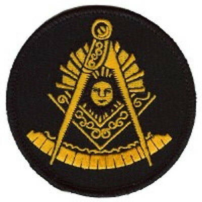 Masonic Past Member Mason Embroidered Patch