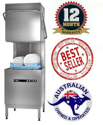 Hobart ECOMAX PLUS H603 Commercial Dishwasher Hood/Pass Restaurant Cafe Catering