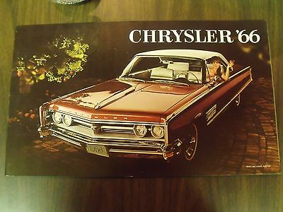 1966 Chrysler New Yorker brochure 66 colour catalogue 300 Windsor Canada