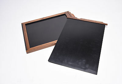 shenhao 8*10 Black Walnut Wooden Film Holder Usa Made For linhof Sina Toyo New