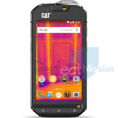 CAT S60 Dual SIM 3GB RAM 4G BLACK 32GB  WARRANTY Unlocked Phone