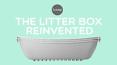Luuup Cat Litter Box 3 sifting tray litter system - New
