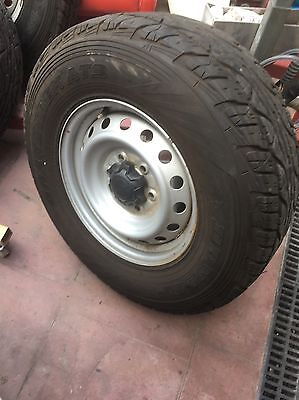 Ford Ranger Rims And Tyres X5 Near New Condition