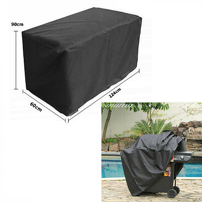 BBQ Barbecue Cover Outdoor Waterproof Garden Wagon Grill Protector Rain UV Dust