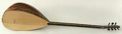 Turkish Professional Long Neck Pamela Baglama Saz For Sale