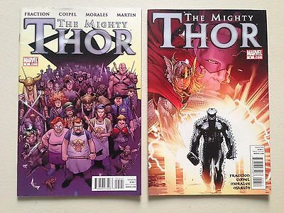 The Mighty Thor # 5 & 6 (2 Comics). NM