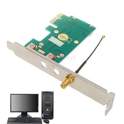 Full/Half Mini PCI-E PCIE to PCI-Express Wireless Passive Card Adapter Converter