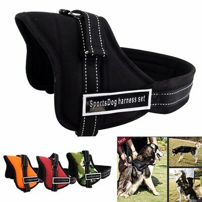 Réglable souple rembourré Non Pull Dog Harness Vest-Small Medium Large Extra Big