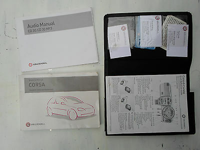 Vauxhall Corsa C Owners Manual Handbook 2000 To 2006 Free P&p