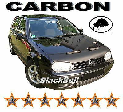 Hood Bra for VW Golf 4 Stone Chip Protection Car Bra Tuning & Styling CARBON