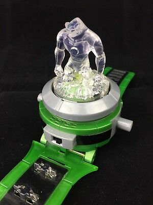 Ben 10 Ultimate Omnitrix Watch with Crystal topper tested Bandai 2008