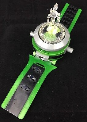 Ben 10 Ultimate Omnitrix Watch with Crystal toppers tested Bandai 2008