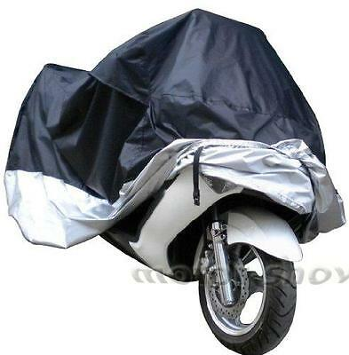 XXL Waterproof Outdoor Motorcycle Cover For Harley Softail Dyna Super Wide Glide
