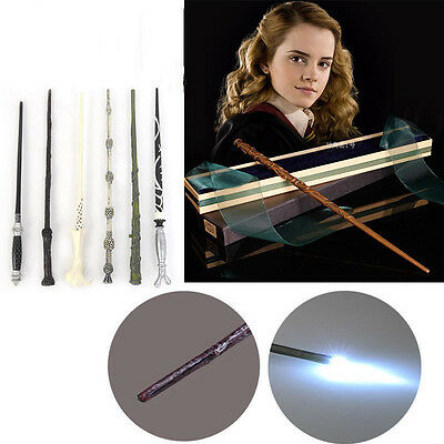 Hot Harry Potter Cosplay Malfoy Dumbledore Voldemort Magic Wand Kids Gift Toy UK