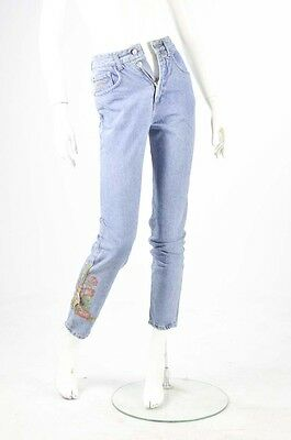 Jeans donna Turquoise Vintage