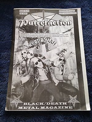 PUTREFACTION - Issue #9 Black/Death Metal Magazine from Sweden 1995