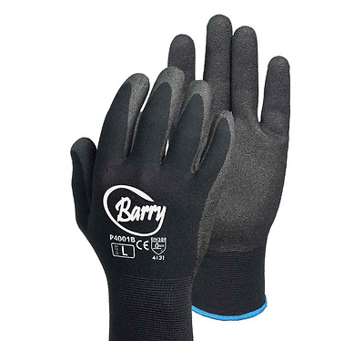 4x Frontier Barry Gloves New Hand Protection Work Safety Gardening Glove Size XL