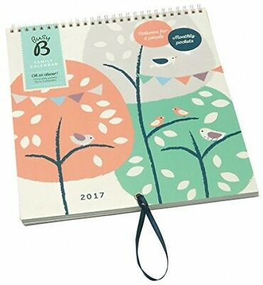 Busy B 2017 Tree Design Family Calendar 5 People Planner Personal Organiser NEW