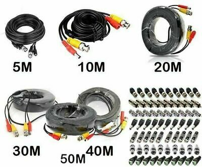 CCTV PRE-MADE  BNC VIDEO AND DC POWER CABLE 5m 10m 15m 20m 30m 40m 50m connector