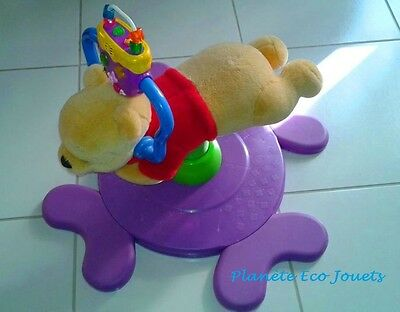 FISHER PRICE Winnie Tourni Rebond violet - Ref.B678