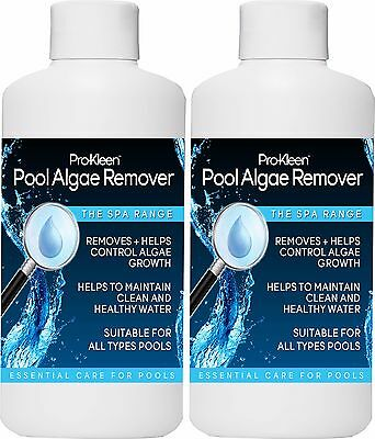 Pool Algae Remover Bacteria Growth Concentrated Chemicals Cleaner Swimming Pools