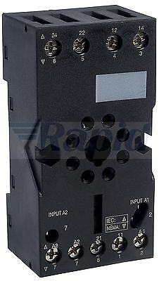 Schneider Electric RUZC2M 8 Pin Cylindrical Relay Socket