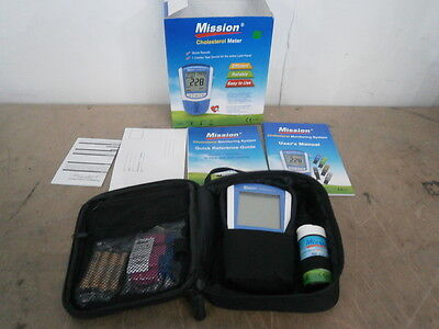 Mission Monitoring Blood Cholesterol Meter 3-1 Combo Test *** NEW ** inc.VAT