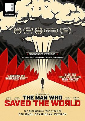 The Man Who Saved The World - New / Sealed Dvd - Uk Stock