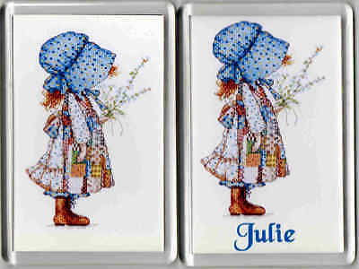 Acrylic Fridge Magnet Holly Hobbie - Can be Personalised if required