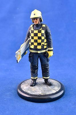 **SALE** 120mm Resin,  Hand painted Fire Officer figurine - BA control
