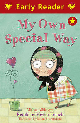 NEW -  RED  EARLY READER - MY OWN SPECIAL WAY by Mithaa alKhayyat