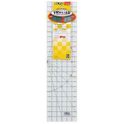 "Olfa Non Slip Frosted Ruler - 6"" x 24"""