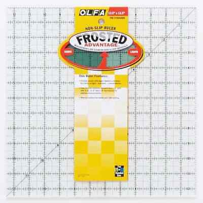 "Olfa Non Slip Frosted Ruler - 12.5"" x 12.5"""