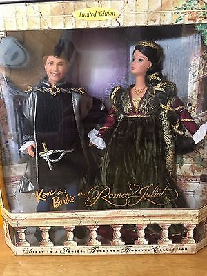 Romeo and Juliet Ken and Barbie Collectors Set 2000