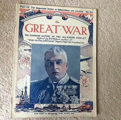 WWI THE GREAT WAR Standard History of the All Europe Conflict HW Wilson PART 14