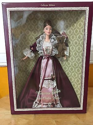 Victorian Barbie with Cedric Bear Collectors Edition 2000