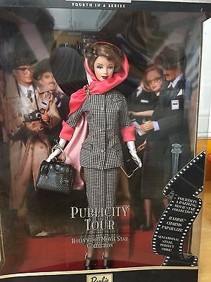 Publicity Tour Hollywood Movie Star Barbie Collectors Edition 2000