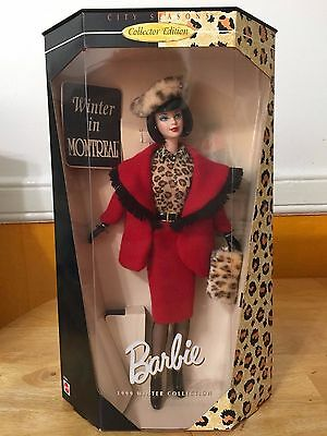 Winter in Montreal Barbie Collectors Edition 1999