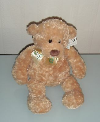 "Soft GUND TEDDY ST GILES HOSPICE 2012 CARING BEAR COLLECTION 'PETER' 14"" NWT"
