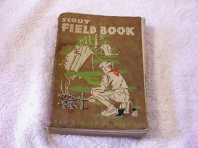 Vintage 1948 Scout Field Book by James E. West Cheif Scout