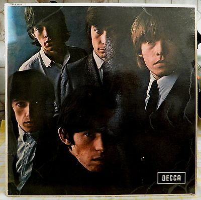 The Rolling Stones No 2 RARE COPY 1965 Pasted Over Blind Man Text