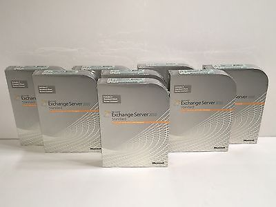 Microsoft Exchange Server 2010 Standard Edition 5 CAL 312-03977 NEW RETAIL➨☆➨☆➨☆