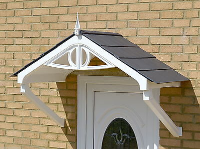 Regency Canopy Rain shade Shelter cover front porch DIY Apex awning with sealant