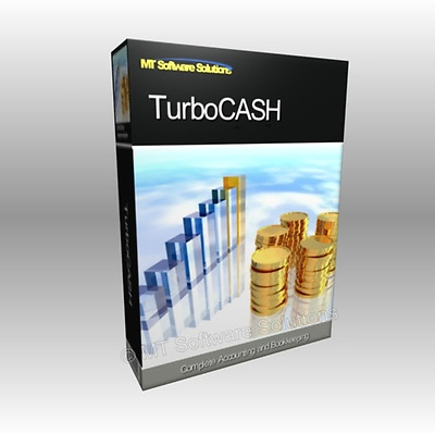 Professional Home and Business Accounting Finance Software, TurboCash CD