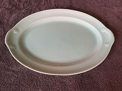 VTG LuRay TS And T Large Pastel Green Platter