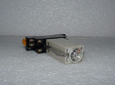 Omron H3Y-2 Miniature Solid State Timer For Use With My Relay